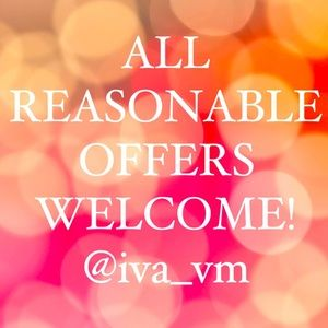 🌟🖤ALL REASONABLE OFFERS WELCOME🖤🌟